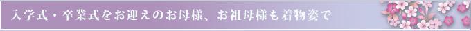 入学式 レンタル衣裳